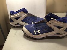 ERIC HOSMER GAME USED CLEATS AUTOGRAPHED