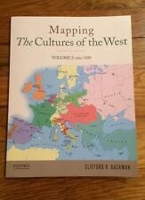 Mapping the Cultures of the West, Volume Two by Clifford R. Backman (2013, Paper