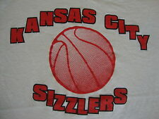 Vintage CBA Kansas City Sizzlers nba minor league basketball champion T Shirt M