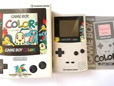 NEW Nintendo Game boy Color Pokemon Center Limited Edition console set CGB-001-C