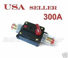 300A Car Audio Inline Circuit Breaker Fuse for 12V System Protection
