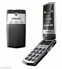 emporia CLICK V32 - Black (Unlocked) Emercency Call, Big Button Mobile Phone