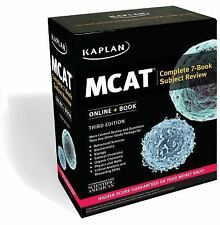 Kaplan Test Prep: MCAT Complete 7-Book Subject Review : Online + Book by...