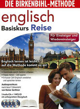 Birkenbihl-English-Basiskurs Reise Audio-Sprachkurs 4 CD,s+Booklett Neu #L2