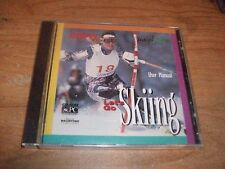 ESPN Let's Go Skiing User Manual Sports Instruction CD ROM WIN/MAC NEW