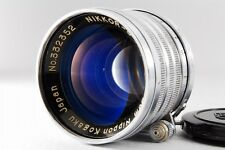 【AB- Exc】 Nikon NIKKOR-S.C 5cm 50mm f/1.4 Lens for Leica L39 Screw JAPAN #2048