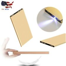 Ultrathin 20000mAh External Power Bank Backup Battery Charger For iPhone Phone