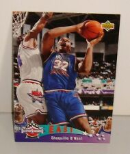 CARTE DE COLLECTION BASKET BALL EAST ALL STARS SHAQUILLE O'NEAL
