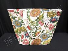 Pottery Barn Gwenyth Palampore Palm Fronds Floral Blooms Tote Shopper Bag Purse