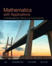 Mathematics with Applications in the Management, Natural, and Social Sciences wi