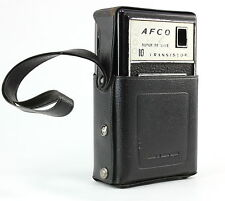 AFCO Super De Luxe 10 Transistor Radio VINTAGE NOT Working