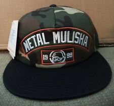 METAL MULISHA TAGGED TRUCKER SNAPBACK CAMO TOP SAMPLE ITEM *NWT*