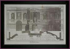 Planche originale Fontaine de Granelle Foubourg Saint Germain DIDEROT D'ALEMBERT