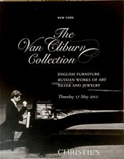 Christie 's NYC the Van Cliburn Collection, catalogo di asta auction may 2012