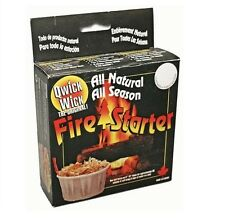 Qwick Wick Fire Starter for Fireplace, Wood Stoves, Camp Fires 4 Pack