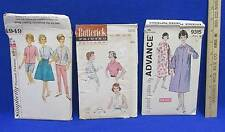 Robe Blouse Wrap Around Skirt Pants Misses Sewing Pattern Size 16 Vintage Lot 3