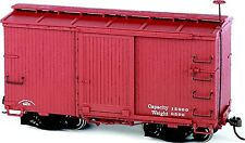 Bachmann On30 Scale Train Box Car Murphy Roof Oxide Red (2/box) 26552