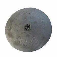 "R4 BOAT RUDDER AND TRIM TAB ZINC ANODE 5""  MILITARY GRADE ZINC NEW"