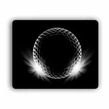 """Computer Mouse Pad Shining Golf Ball For Home and Office Size 8""""x10"""""""