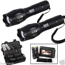 2X 6000lm X800 Taschenlampe ShadowHawk LED Militär Grade G700 Fackel Flashlight