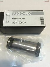 REGO-FIX TOOL MCS 1000 Standard Milling Chuck Sleeve Metric 8020.91200 20 mm NEW