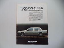 advertising Pubblicità 1982 VOLVO 760 GLE