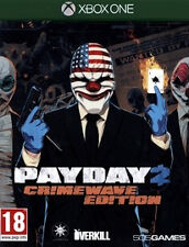 Payday 2 -- Crimewave Edition (Microsoft Xbox One, 2015)CHEAP PRICE FREE POSTAGE