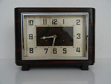JUNGHANS PFEILKREUZ HAC German Antique Mantel Clock ART DECO |Hermle Kienzle era