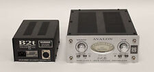 Avalon M5 Mono Microphone Preamp with Direct Instrument Inputs with Power Supply
