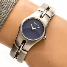 DKNY NY3073 30m Blue Dial Brushed Silver Tone Woman's Working Watch 59902