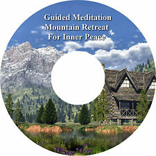 Guided Meditation Mountain Retreat CD Relaxation Peace Stress Relief Sleep Aid