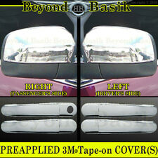2005-2007 FORD FIVE HUNDRED FREESTYLE Chrome Door Handle + Mirror COVERS Trims