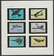 GB Locals - Bernera 2841 - AIRCRAFT  imperf sheetlet unmounted mint