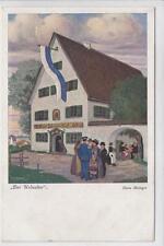 AK Der Urlauber, Künstler: Hans Metzger, 1915