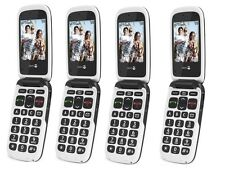 NEW DORO PHONE EASY 611- 612 GREY/WHITE EASY TO USE CAMERA UNLOCKED GENERIC BOX