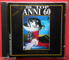 cd 20 top anni 60 golden age gianni meccia betty curtis mina giorgio gaber milva