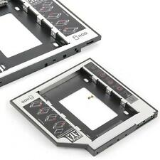 SATA 2nd HDD HD Hard Drive Caddy Case for 9.5mm Universal Laptop CD / DVD-ROM LN