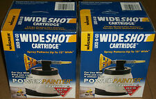 Lot of 2 WAGNER Wideshot LOCK-N-GO Paint Sprayer CARTRIDGE for Power Painter NEW