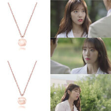 AGATHA PARIS Coco Rose Necklace Doctors Park ShinHye 朴信惠 Silver 925 Pink Gold