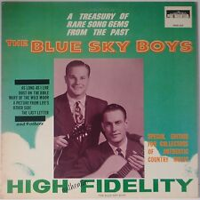 BLUE SKY BOYS: Treasury of Sound Gems PINE MOUNTAIN bluegrass VINYL LP NM-