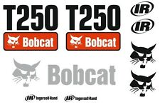 (ORIGINAL LOOK) BOBCAT T250 FULL DECAL STICKER SET KIT SKID STEER JL76