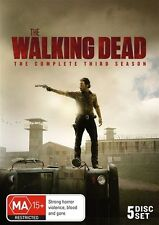 THE WALKING DEAD - THE COMPLETE THIRD SEASON 5DISC-SET, Region: 4