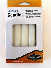 Stansport Camper Candles Slow Burn Emergency Candle Lantern Survival