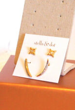 Stella & Dot Moon & Stars Stud Pack - New in Box!