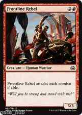 FRONTLINE REBEL Aether Revolt Magic MTG cards (GH)