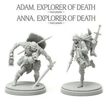 ANNA & ADAM - KINGDOM DEATH MONSTER miniature figurine hard PLASTIC sprue