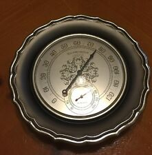 Springfield Insyrument Company Thermometer-Humidity Flower Shape