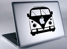 VW Bus Hippie Volkswagen Apple Macbook Laptop Air Pro Vinyl Decal Sticker Skin