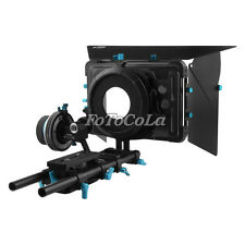 FOTGA DP500IIS DSLR HDV A/B follow focus + 15mm rail Rod Support rig + matte box