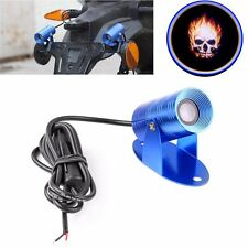 Motorcycle LED Laser  Projector 3D Ghost Rider Flaming Skull Logo Light Lamp New